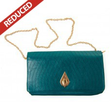 Large Clutch Bag  Bright Turquoise
