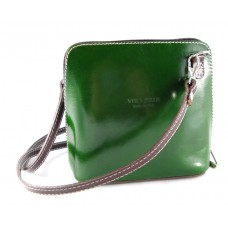 Sold out!  GREEN Italian leather handbag MINI SIZE
