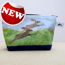 SOLD! Rabbits Cosmetic Purse - ONLY ONE LEFT!