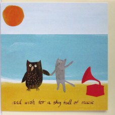 Owl & The Pussycat in the Sun Greetings Card