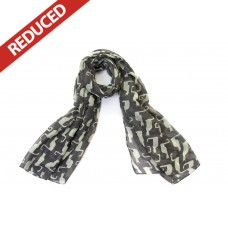 OUT OF STOCK Slate Grey Cat Scarf