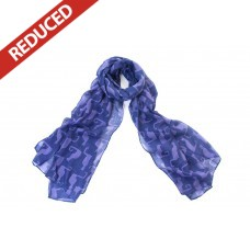 Purple Cat Scarf