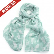 Mint Green Cat Scarf