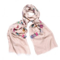 Pale Brown Colourful Beetle Scarf -ONE LEFT!