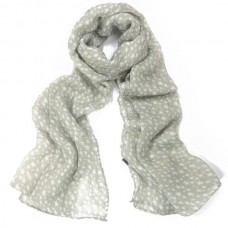 Pearl Grey Heavenly Stars Scarf - Scarves by Aubergine Designs